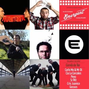 Festival Emergent: Dissabte visitem Cervià de Ter! Gossos + Peyu + Cris Juanico + Sr. Mit + Cia La Corcoles + Carlo Mo & Mr Di.