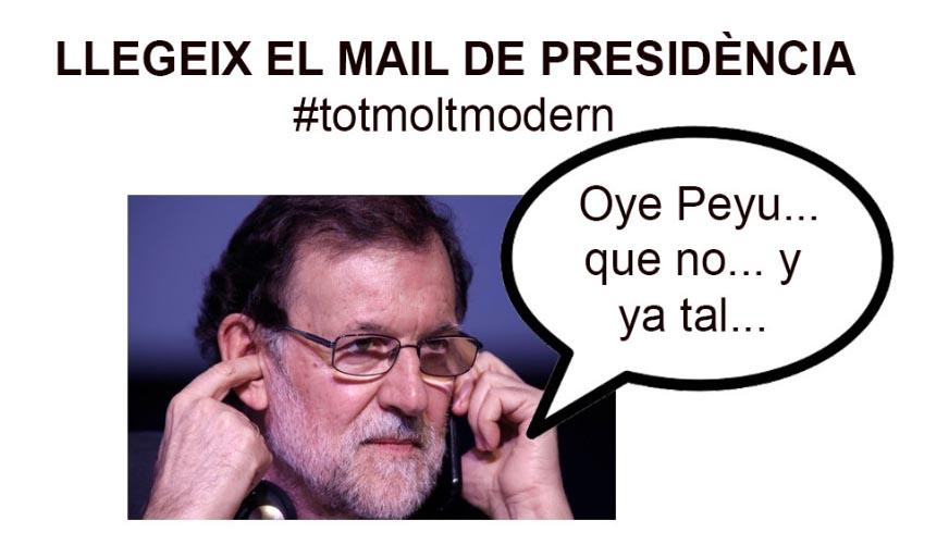 Peyu Rajoy 1 octubre referendum