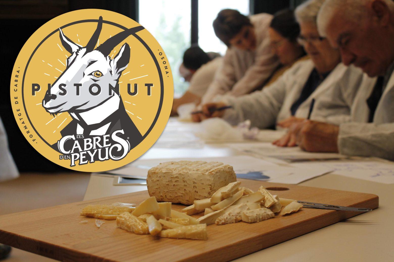 El nou formatge ja té nom: PISTONUT!
