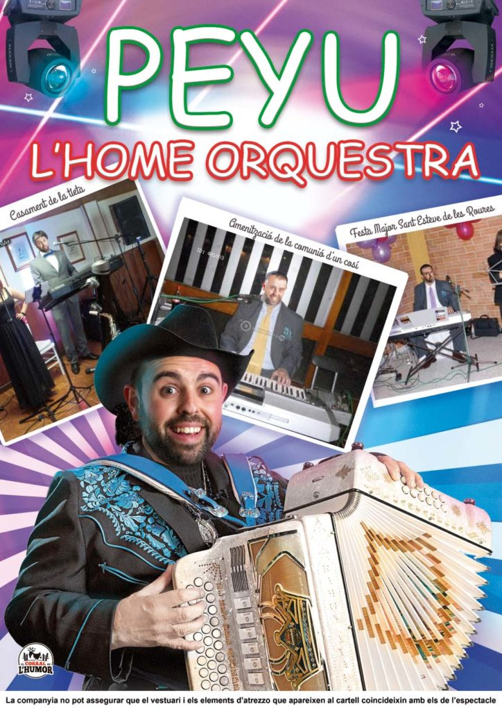 L'home orquestra (2019) Peyu